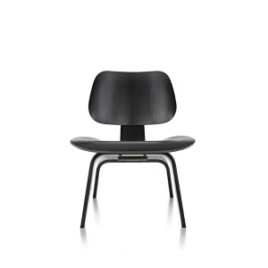 Eames Molded Plywood Lounge Chair, Wood base, LCW.EN