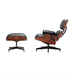 Eames Lounge Chair And Ottoman, Santos palisander