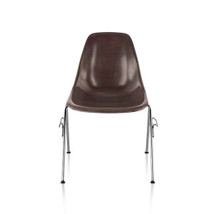 Eames Molded Fiberglass side Chair, Stacking Base, DFSS