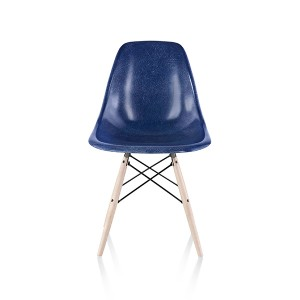 Eames Molded Fiberglass side Chair, Dowel Base, DFSW