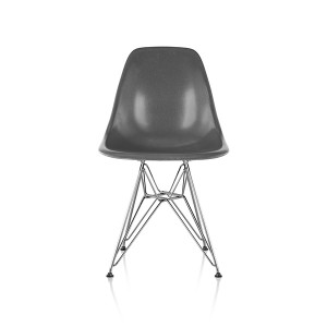 Eames Molded Fiberglass side Chair, Wire Base, DFSR