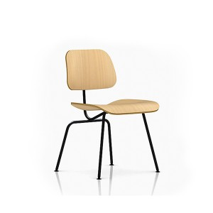 Eames Molded Plywood Dining Chair, Metal base, DCM.A2