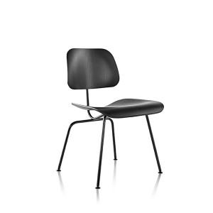 Eames Molded Plywood Dining Chair, Metal base, DCM.EN