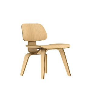 Eames Molded Plywood Dining Chair, Wood base, DCW.A2