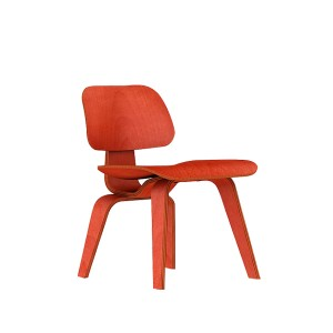 Eames Molded Plywood Dining Chair, Wood base, DCW.11