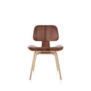 Eames Molded Plywood Dining Chair, Wood base, DCW.OU/9N