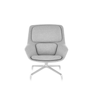 Striad Lounge Chair, Mid back