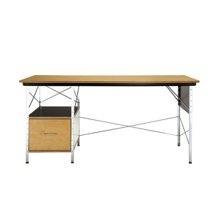 Eames Desk Unit, Multi/Natural