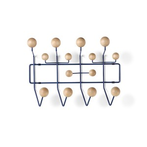 Eames Hang-It-All , HIA (Maple/Dark Blue)