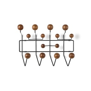 Eames Hang-It-All , HIA (Walnut/Black)