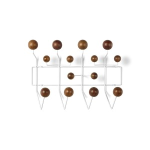 Eames Hang-It-All , HIA (Walnut/white)