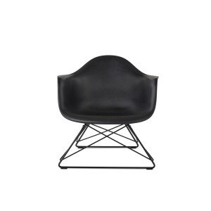 Eames Molded Plastic Arm Chair, Low Wire Base, LAR
